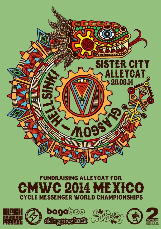 Sister City Alleycat CMWC [2014/02/28 Mexico]