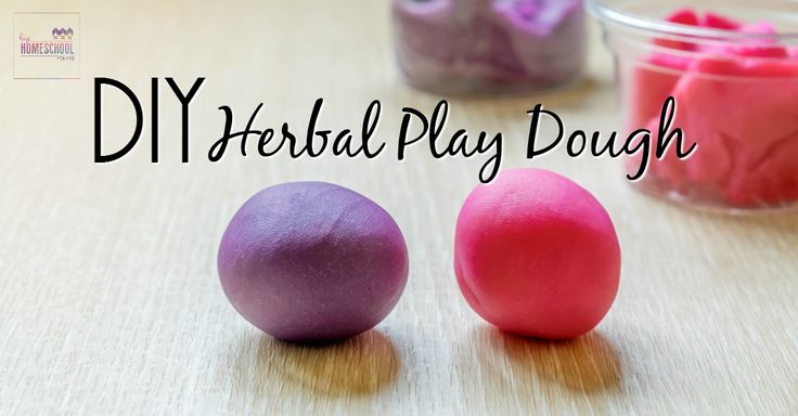 You can use your herbal play dough in several ways to teach phonics. Here are a few suggestions.