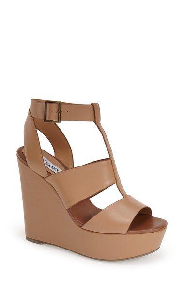 Steve Madden 'Keenia' Wedge Sandal (Women) available at #Nordstrom