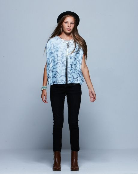 Kaylee Top + Issy Jean + Anya Ankle Boot | Pavement United Brands