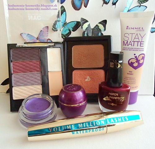 Hodnotenia kozmetiky: Tip na jesenné líčenie *pleť, oči, pery, nechty*