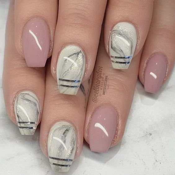 Coffin Nails Halloween (With images) | Coffin nails ...