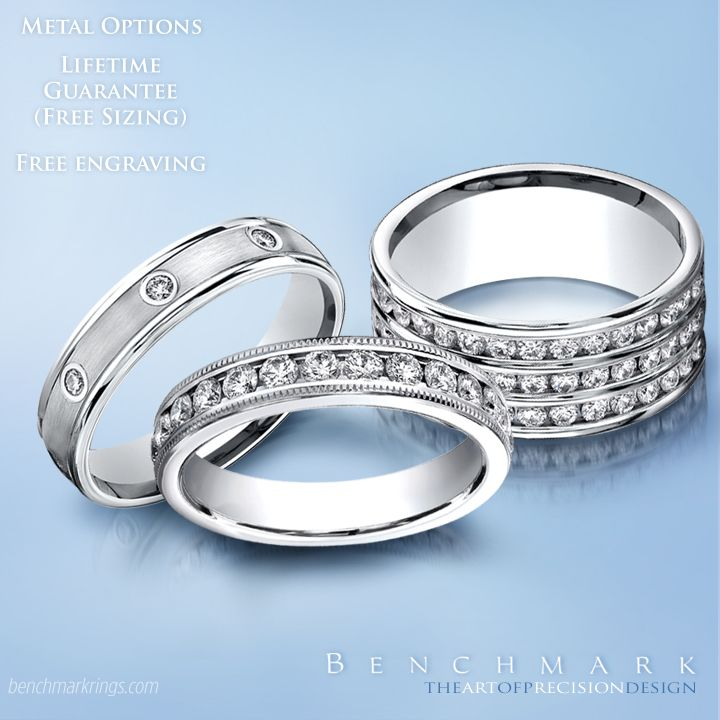 and diamond engagement benchmark bands bridal rings wedding