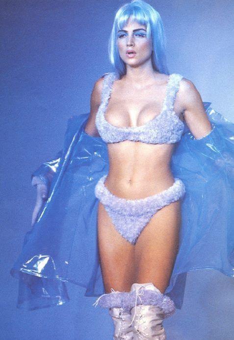"""femmequeens: """"Helena Christensen and Rachel Williams, Thierry Mugler Fall/Winter 1991 """""""