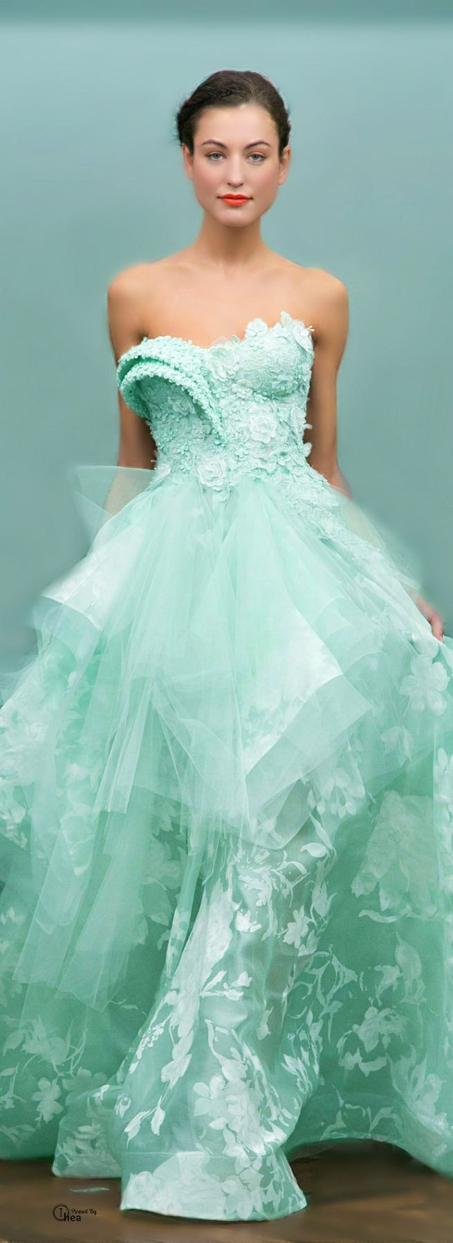 Green dress for wedding party   best MINT images on Pinterest  Mint green Turquoise and Aqua blue