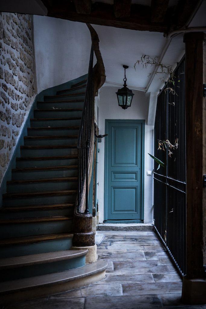 17 meilleures images propos de escalier sur pinterest for Deco escalier ancien