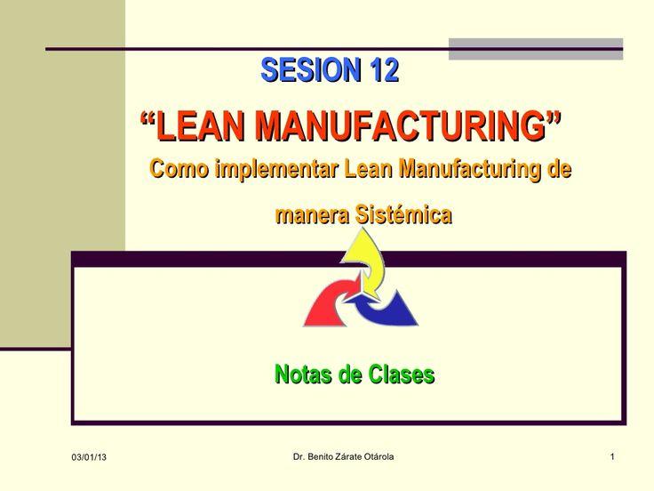 Gestion Logistica y de Operaciones - Sesion 12 by Hector Javier via slideshare