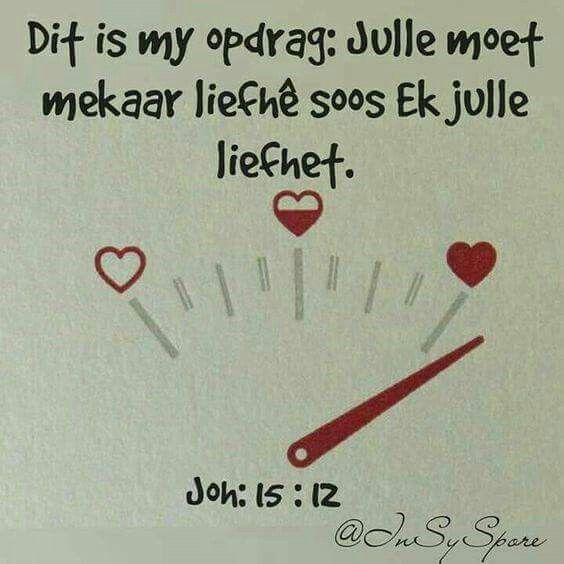 Liefde soos God se liefde is die beste ooit♡♥♡