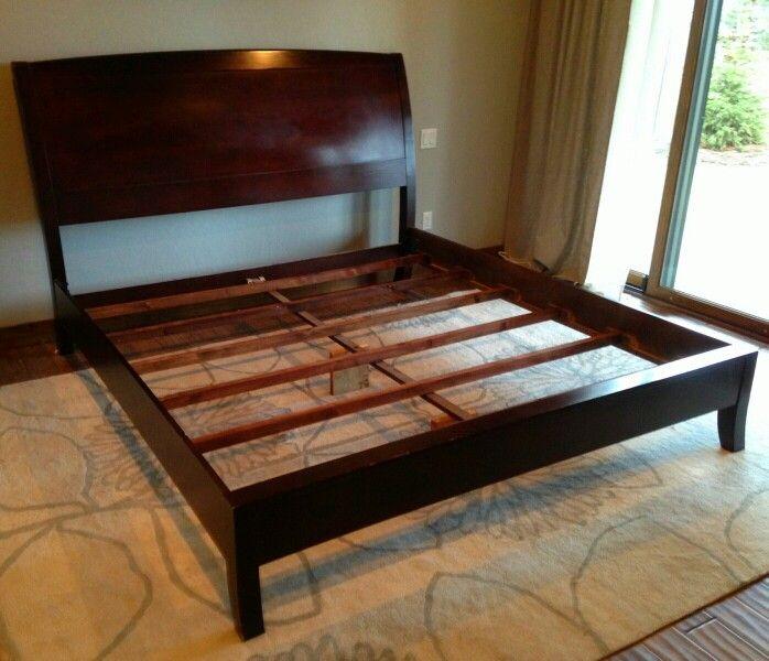 25 best ideas about california king bed frame on pinterest king platform bed frame. Black Bedroom Furniture Sets. Home Design Ideas