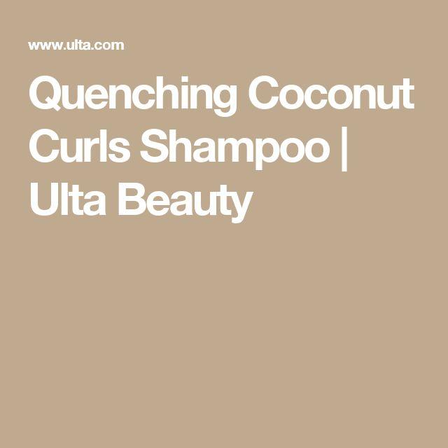 Quenching Coconut Curls Shampoo | Ulta Beauty