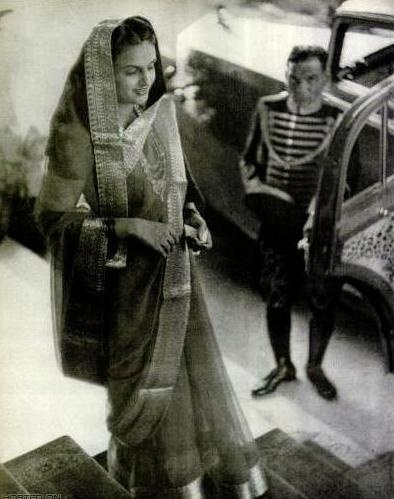 Maharani Sita Devi Sahib of Baroda, (b. May 12, 1917) was the daughter of the Maharaja of Pithapuram. Maharaja Pratap Singh Gaekwar of Baroda ( the eight richest man in world, also the second richest Indian prince) was her second husband. She lived between Monaco, Paris and Baroda. She died February 15, 1989 in Paris, France.