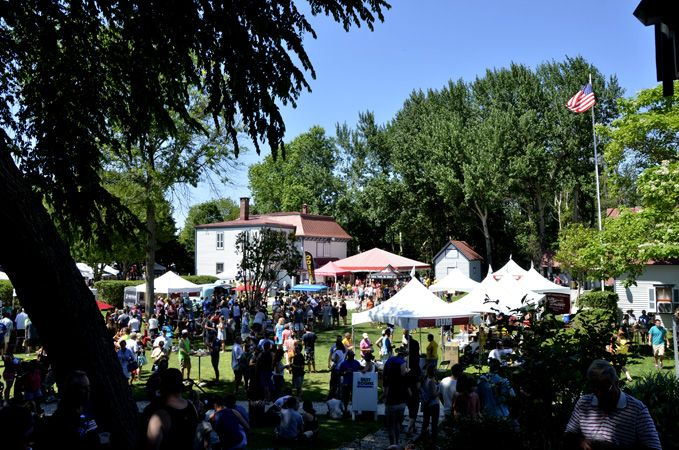 The first annual Hops Festival in Cape May
