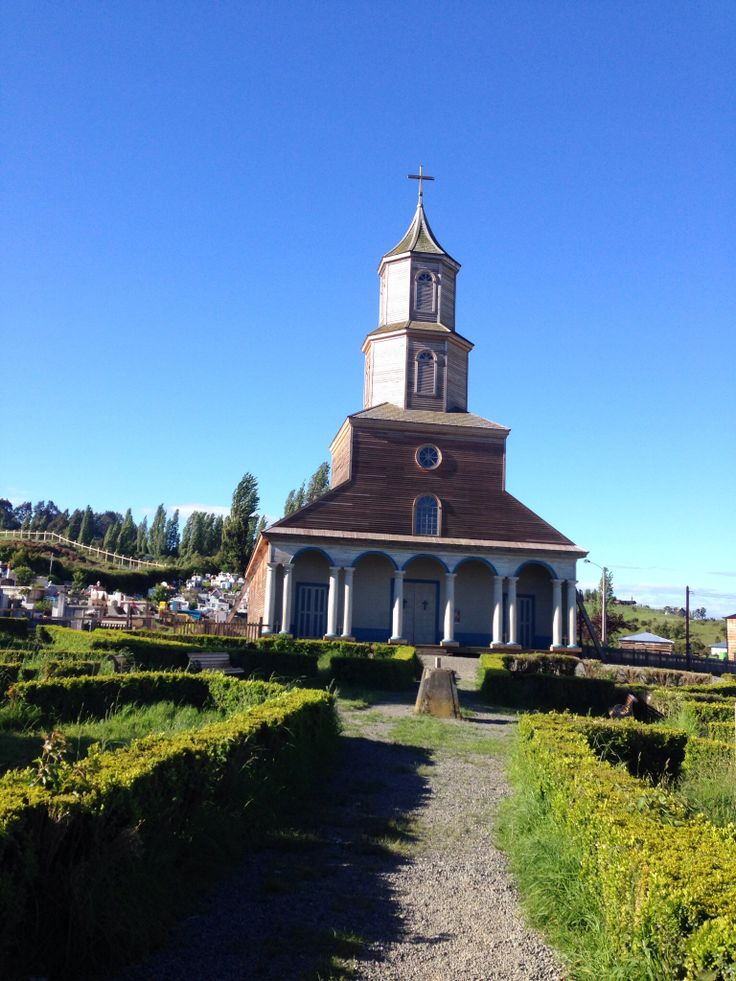 Chiloe church. South of chile