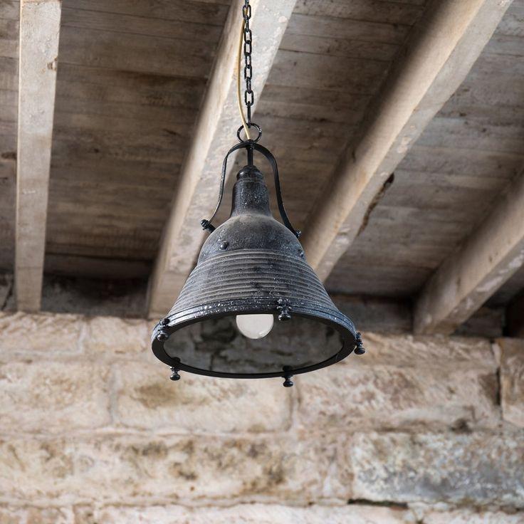 Hoover Industrial Pendant Light