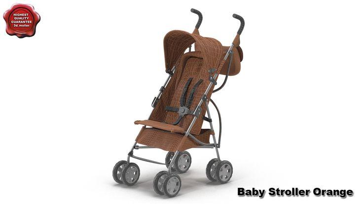 3d model of Baby Stroller by 3d_molier International