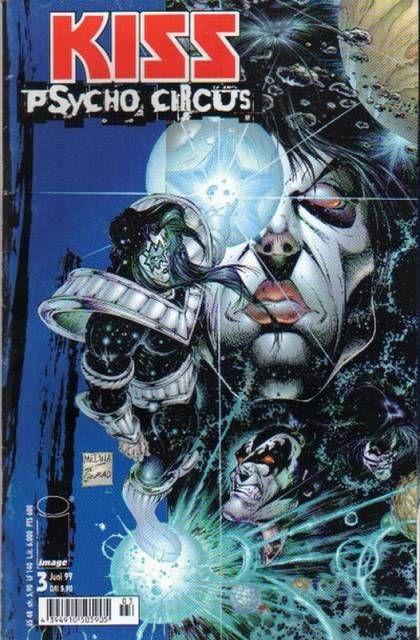 Kiss Psycho Circus Comic Series | KISS: Psycho Circus #3