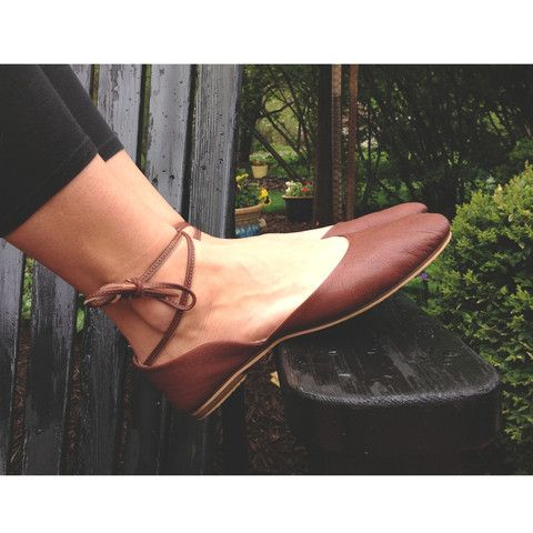 'moroccan ballet' ankle tie flats