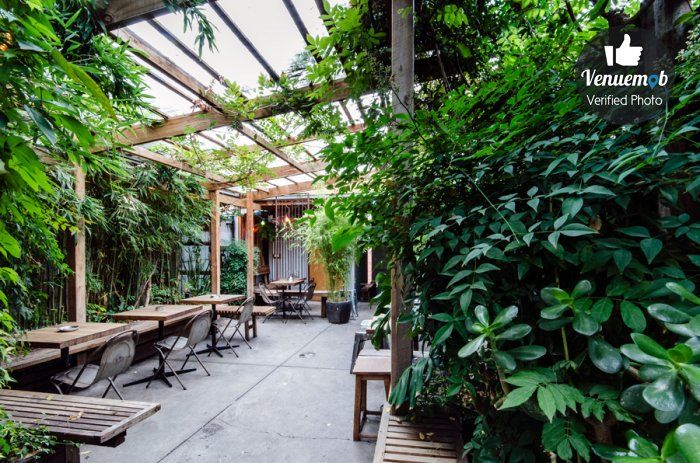 Beer Garden at The Alderman, Brunswick East.   Great for casual birthday celebrations. Enquire now for your next function: https://venuemob.com.au/the-alderman