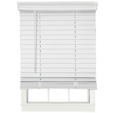 "jcpenney.com | Cut-to-Width 2"" Cordless Faux-Wood Blinds"