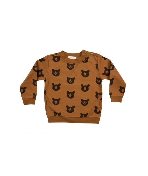 Sweatshirt Bear rust