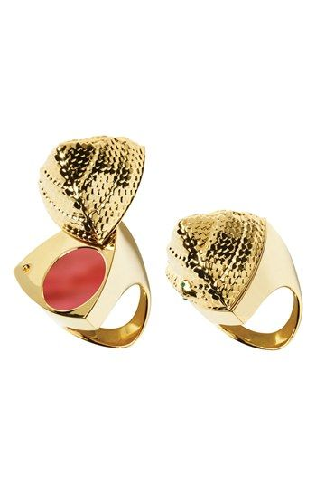 Santigold for Smashbox 'Be Legendary' Lipstick & Snake Ring available at #Nordstrom