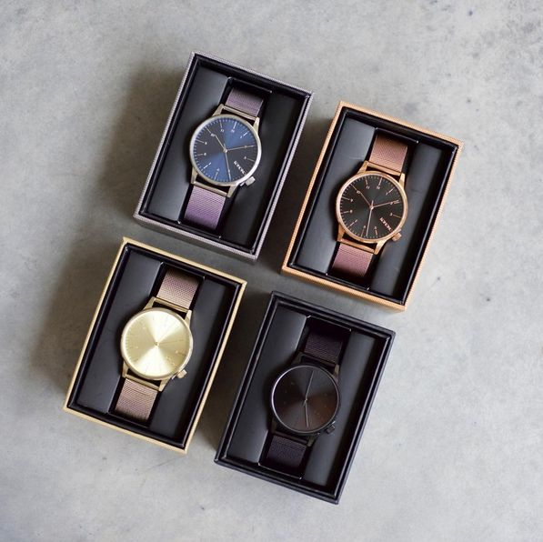 Pick your favorite Winston Royale Color: Silver, Rose Gold, Zirconium Gold or Black