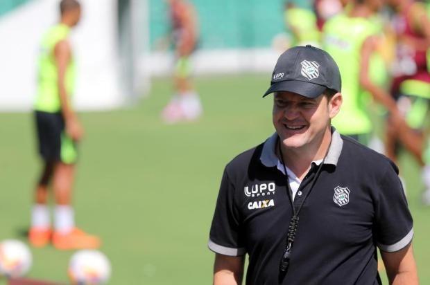 Argel comemora desempenho do Figueirense: 'Mostramos nossa força' +http://brml.co/1A8VYse