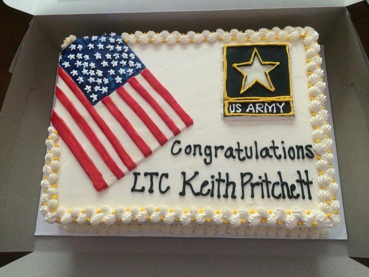 My husband's Army retirement cake by Rachel McDonald