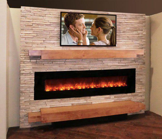 Best 25+ Modern stone fireplace ideas on Pinterest