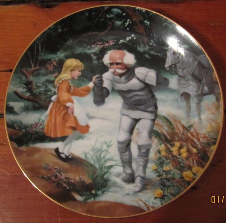 alice+in+wonderland+the+white+knight | Alice In Wonderland 1985 - White Knight Plate - Natalie Gregory