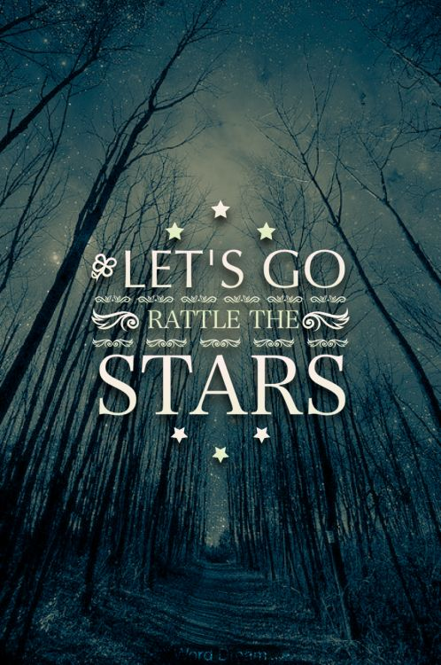 #stars #space #quote