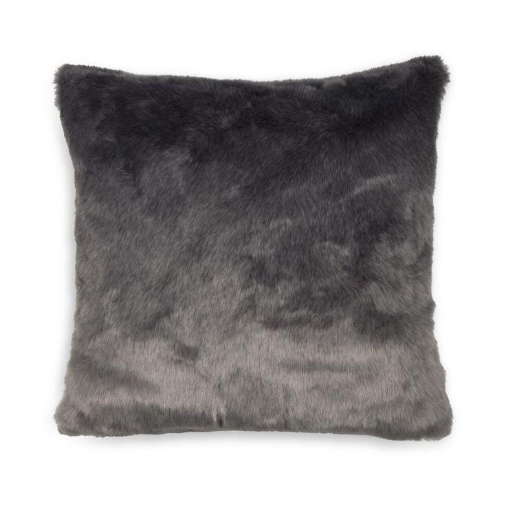 Ombre Faux Fur Scatter Cushion