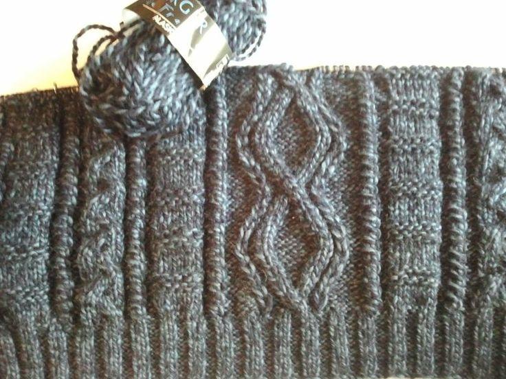 modèle tricoter debardeur homme