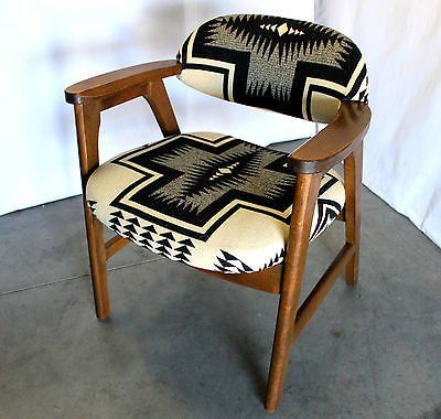 unusual chairs under $100 | MID CENTURY Navajo PENDLETON ...