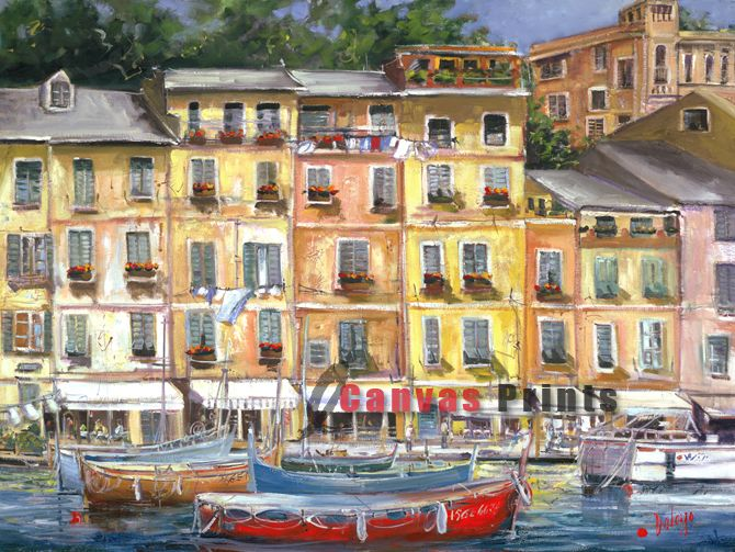 """Heart of Portofino"" Limited Edition by Lucette Dalozzo"