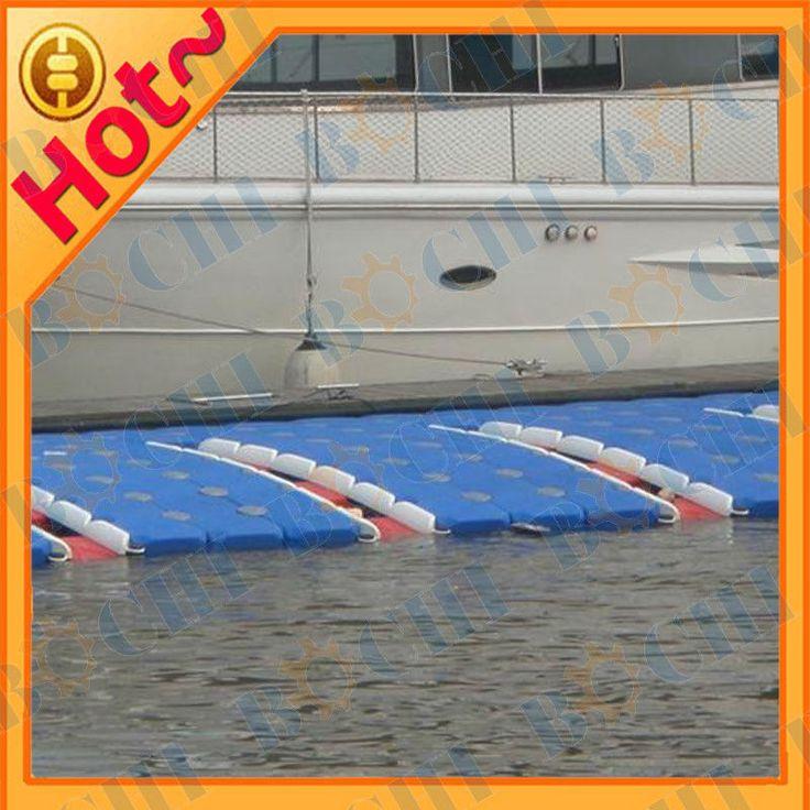 Easy Installing Durable China Manufacturer HDPE Floating Modular Boat Plastic Pontoons Dock $35~$80