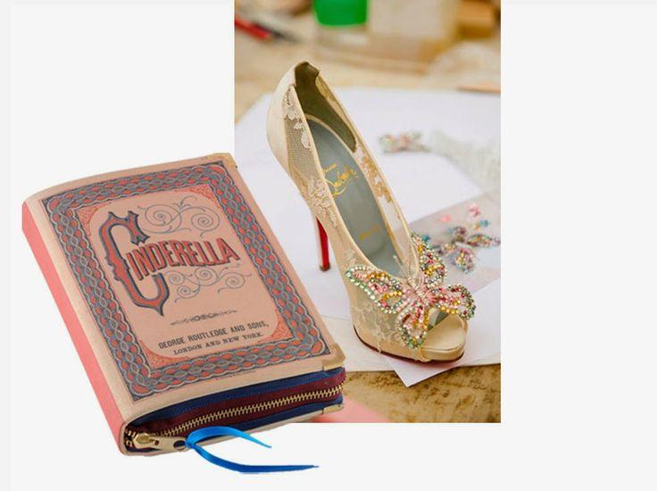 Cinderella Book Clutch by P.S. BESITOS