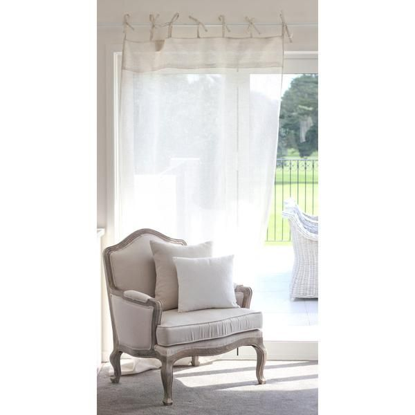 Linen by the Fine Linen Company is sourced in Europe and woven in India. The distinct texture, elegant style and natural durability is only found in the best qu