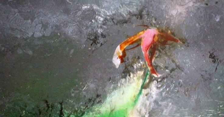 #art #abstract #contemporary #2D #painting #mixedmedia #artist #leahhicks #canada