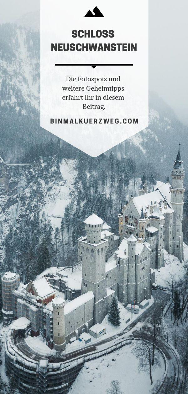 Schloss Neuschwanstein Im Winter Schloss Neuschwanstein Schlosser In Bayern Tagesausflug Bayern