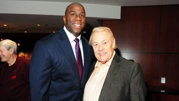 Jerry Buss, Los Angeles Lakers owner