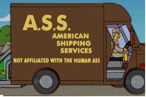 Just to be clear, we are NOT affiliated with the human ass.