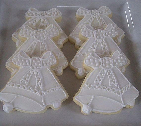 Church Bells Ringing On Our Wedding Day: 24 Best Sugar Cookies Wedding Images On Pinterest