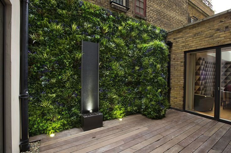 Green walls, artificial green wall, garden design, garden ...