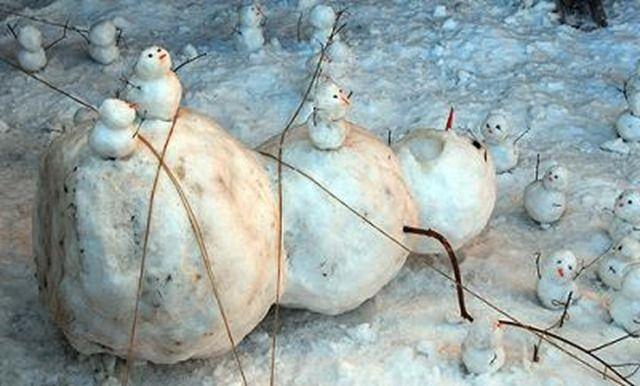 Snowman Idea ... Too funny!!!