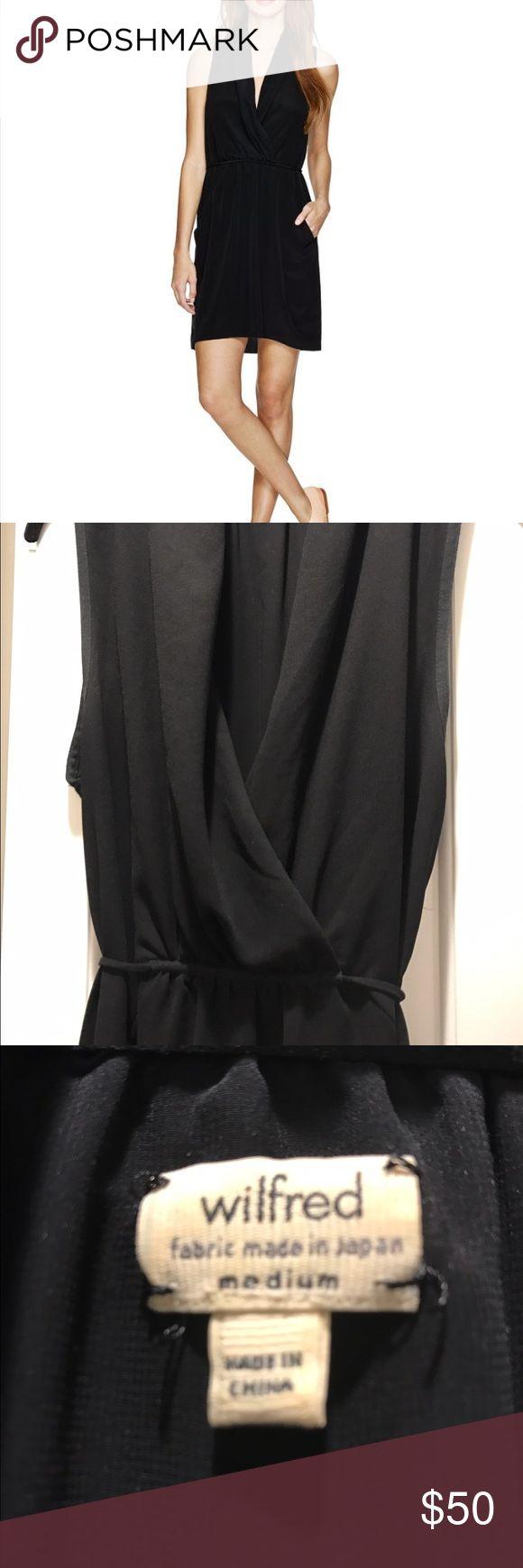 Aritzia little black dress Wilfred black dress- the perfect little black dress. Aritzia Dresses
