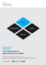 EAST: Four Simple Ways to Apply Behavioural Insights | The Behavioural Insights Team