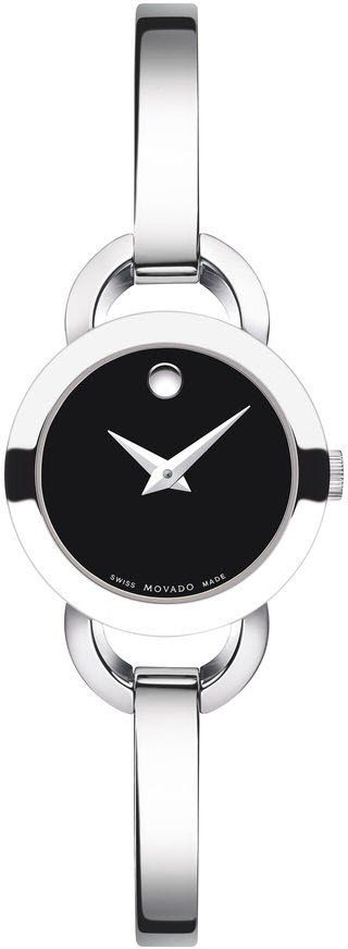 Movado Watch Rondiro #add-content #bezel-fixed #bracelet-strap-steel #brand-movado #case-depth-5-3mm #case-material-steel #case-width-22mm #classic #delivery-timescale-call-us #dial-colour-black #gender-ladies #movement-quartz-battery #new-product-yes #official-stockist-for-movado-watches #packaging-movado-watch-packaging #style-dress #subcat-rondiro #supplier-model-no-0606796 #warranty-movado-official-2-year-guarantee #water-resistant-30m
