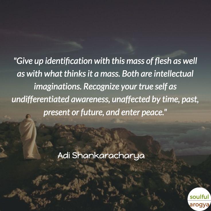 10 Great Adi Shankaracharya Quotes - Quote 3