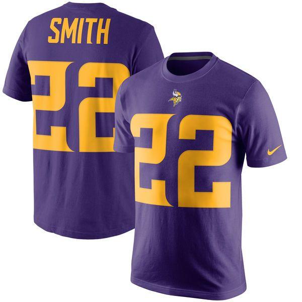 Harrison Smith Minnesota Vikings Nike Color Rush Player Pride Name & Number T-Shirt - Purple - $31.99